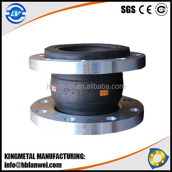 Best price Flexible Single Ball Rubber Joint made in China