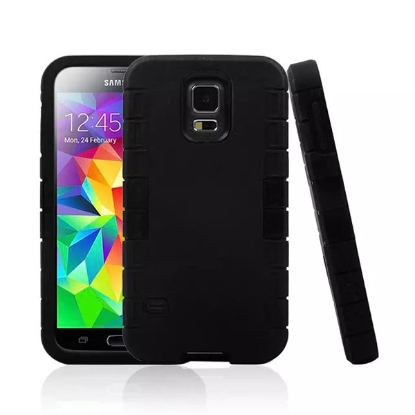 cool black combo belt clip holster case for samsung galaxy s5