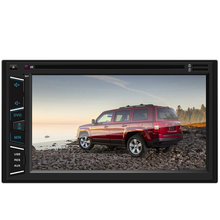 Multimedia 2 Din Car Radio Car DVD Player Video Audio Stereo Radio TV BT FM RDS