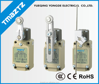 IP67 Long life Two circuit Roller lever Limit Switch