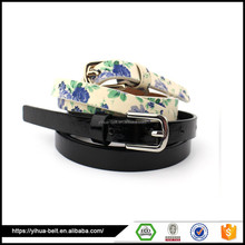 Factory OEM design woman leather belt classic ratchet leather belts