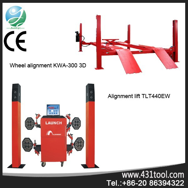 High effciency and better value LAUNCH KWA-300 3d manual car target plates laser wheel alignment