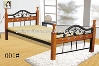 wooden and mental bunk bed/bedding set/morden design bed