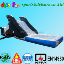 Water slide inflatable pool for toddlers inflatable wet slide for kids