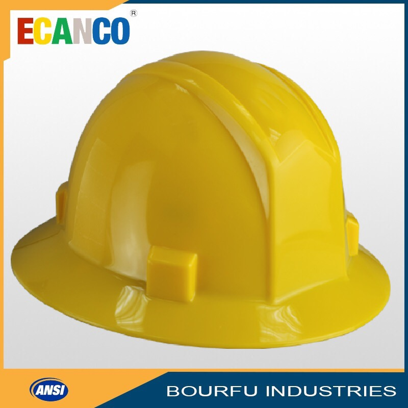 Taiwan Supplier 4 Point Harness ANSI Engineering Safety Helmet
