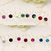 FREE Shipping 4.6mm Color Crystal Wedding Bridal Hair Pins