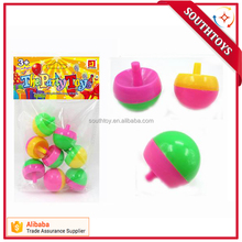 Upside Down Plastic Spinning Tops Toy