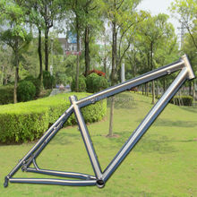 Newest model 650B Rhombic mtb titanium frame with post mount disc rack mount fender mount