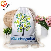 Good looking hot sale sublimation custom made drawstring shopping bag