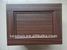 PVC overlaid MDF wrapping cabinet door