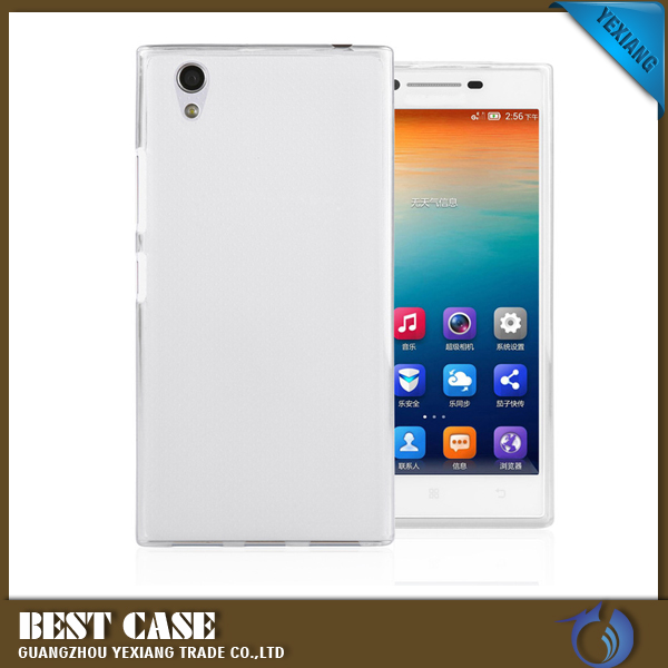 transparent back cover clear tpu case phone case accessory for lenovo p70