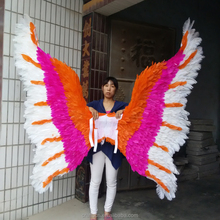 angel wings made of nature feather for festival decoration
