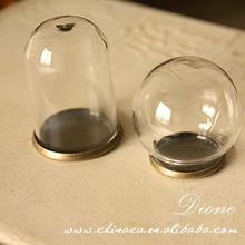 2014 fast delivery hand blown clear glass balls