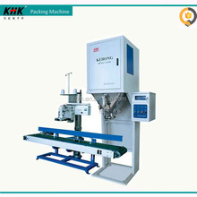 5-50kg rice bag filling packing machine with conveyor and sewing machine