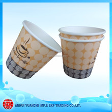 Beverage Use Soda Drinking Paper Cups 4 oz