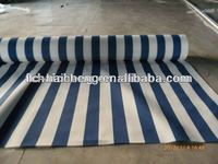 black/white pe striped tarpaulin for market stall patio cover or awnings