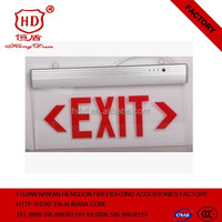 Fire Fighting Accessories Emergency exit Sign Light