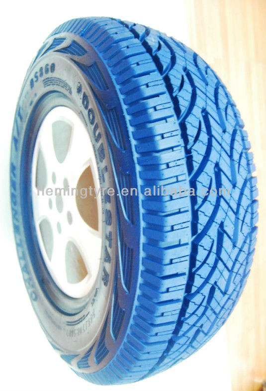 Blue colored Car Tire /PCR Tyre 205/60R15,205/60R16,215/55ZR16,215/60R16