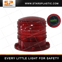 Solar Aviation Obstruction Light/ Magnet solar marine beacon