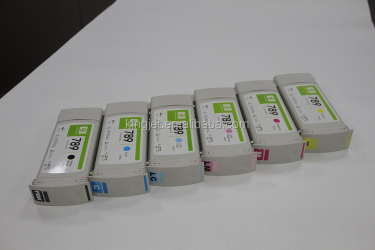remanufactured for HP Latex L25500 printer ink cartridge for HP789 ink cartridge NO.