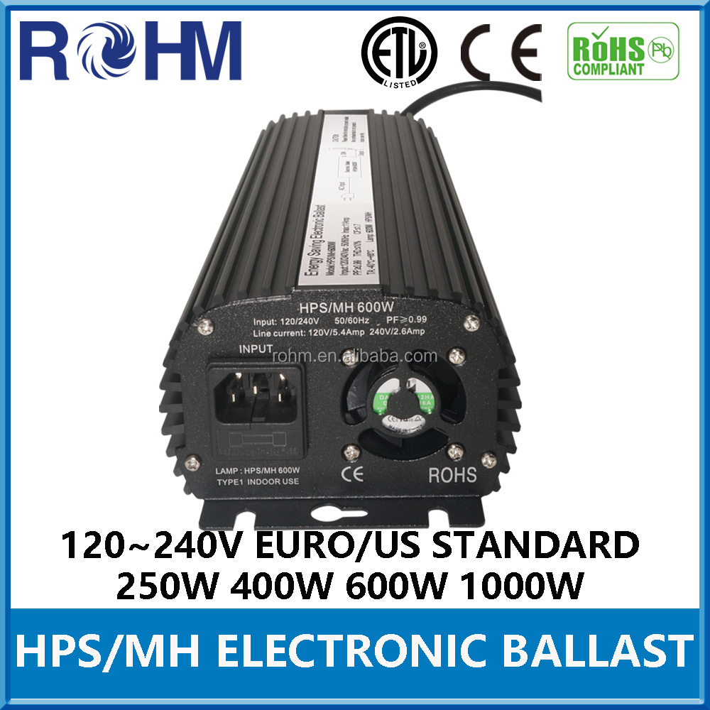 ISO9001 Certified balastro 600w With Good Service