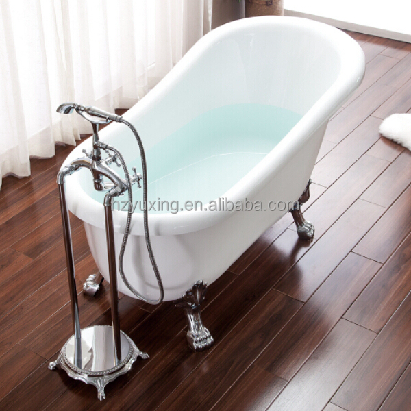 2014 New Design Classic Clawfoot Red Small Freestanding Bathtub MV-009G