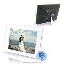 "Cheap Blue for 12"" inch Wide Screen Multi-functional White LCD Digital Photo Frame Display with MP3"