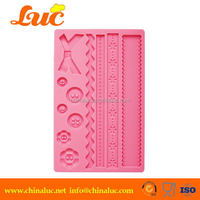Fabric Cupcake Decorating Mould Silicone Stencis
