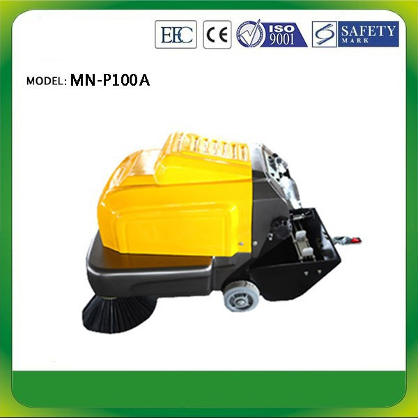 CE Hand held Scavenger street sweeper,electric ROAD SWEEPER (BATTERY),Promotional sweeping machine