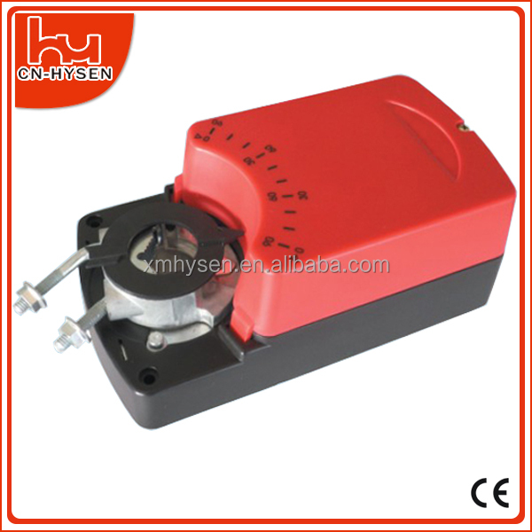 HVAC system 24V damper actuator 2 point or 3 point control