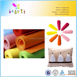 Color Needle Punched Polyester Nonwoven Fabirc Felt