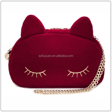 dual use mini cartoon Lady hand bag