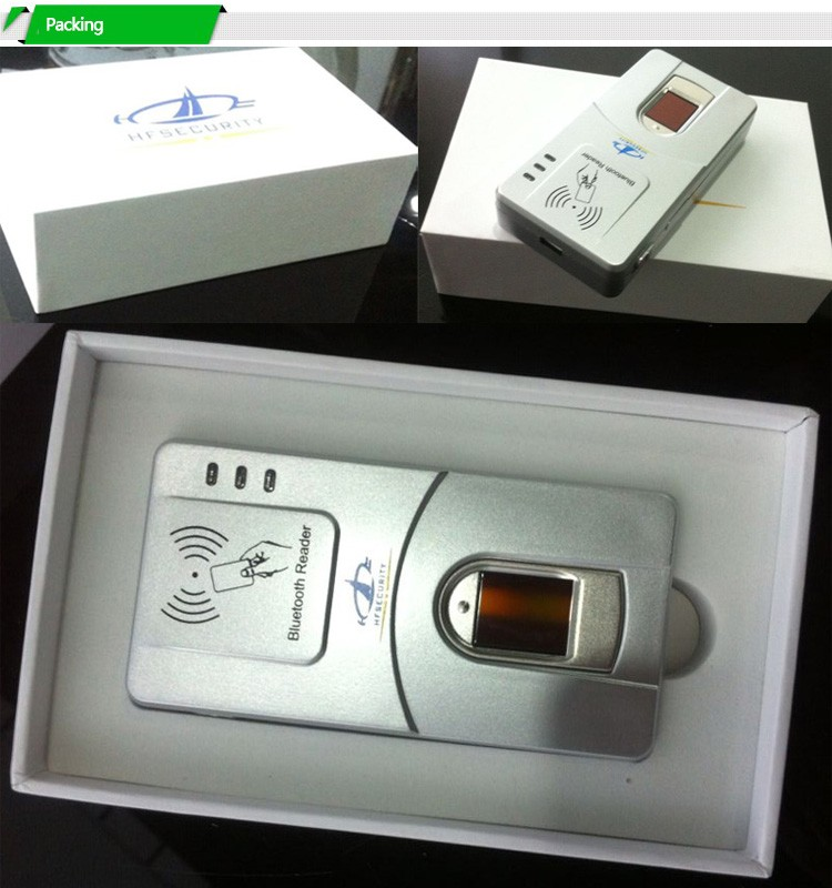 HF7000 China Top Wireless RFID Reader Fingerprint Scanner Printer Optional