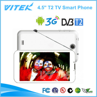 Support DVB-T2 TV 4.5 inch Digital TV Smartphone