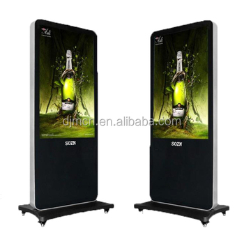 42 inch touch screen kiosk,custom lcd and touch screen advertising machine