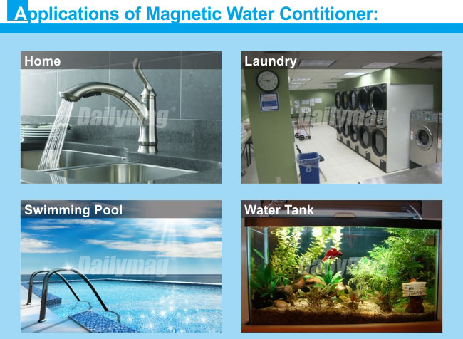 "Permanent Industrial 3""-4"" Agriculture Magnetic Water Treatment"