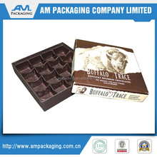 custom two pieces rigid set up box chocolate blister packaging