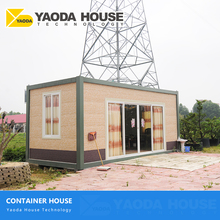 New Promotion Romania Mobile Resident Room Refugee Container Worksite Housing Anti-Earthquake Steel Container Villa House