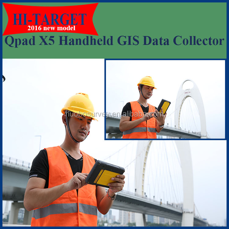 New Handheld GPS to Collect GIS Data