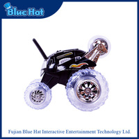 New arrival black crazy 360 degrees rotation rc toy car