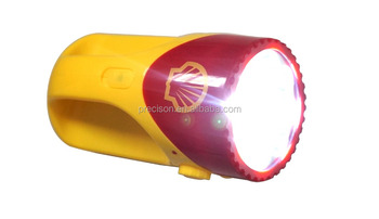 LED Flashlight with FM Radio for promotion