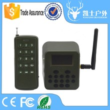 Sale Lcd Screen Power Off Memory Hunting Mp3 Player Electronic Animal Repellent With Remote