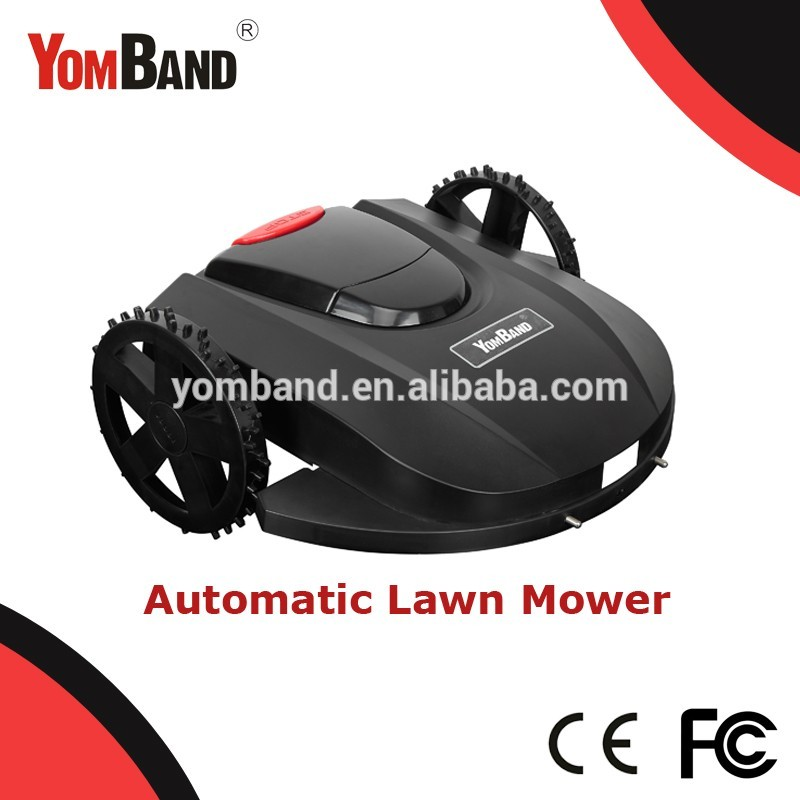 YB-M13-320 smart robotic lawn mower electric lawn zero turn mowers with CE ROSH from TUV