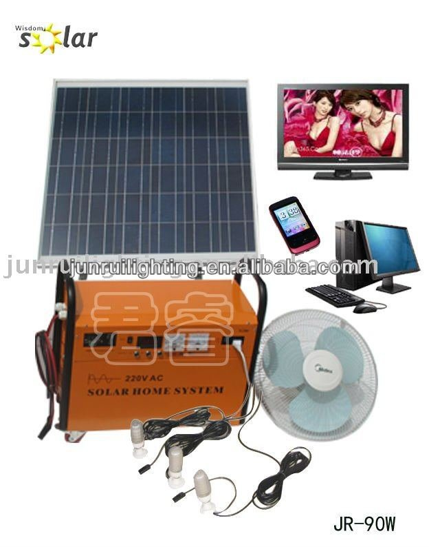 Practical CE solar power home system,solar generator;SOLAR HOME SYSTEM