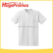 Assorted Colors Fashion Print Logo Pocket T-shirt For Party Favor
