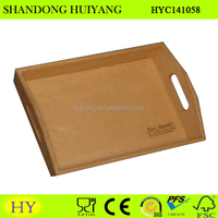 custom cheap antique wood serving tray wholesale