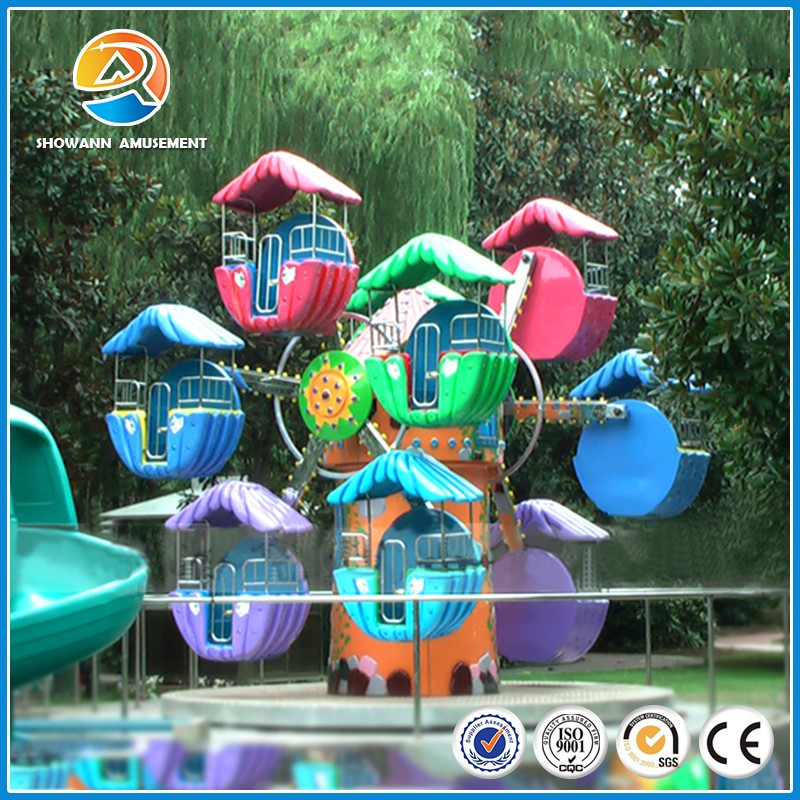 Funny children amusement Electric small ferris wheel
