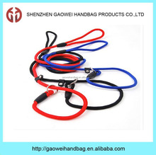 Wholesale Pet Nylon Rope Dog Leash & Collar In One;plain nylon dog collar and leashes;Whole Dog Leash & Collar in One