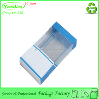 High quality custom cheap clear plastic gift box