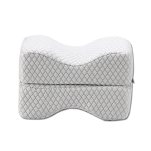 Orthopedic Memory Foam Knee Support Pillow Sciatic Nerve Pain Relief Knee Pillow For Sleeping